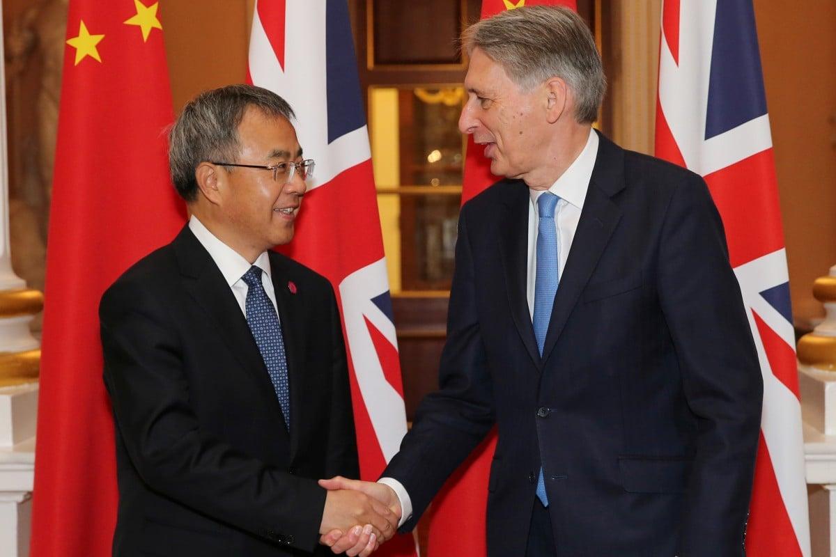 China-Britain trade deal secured, despite UK's Hong Kong