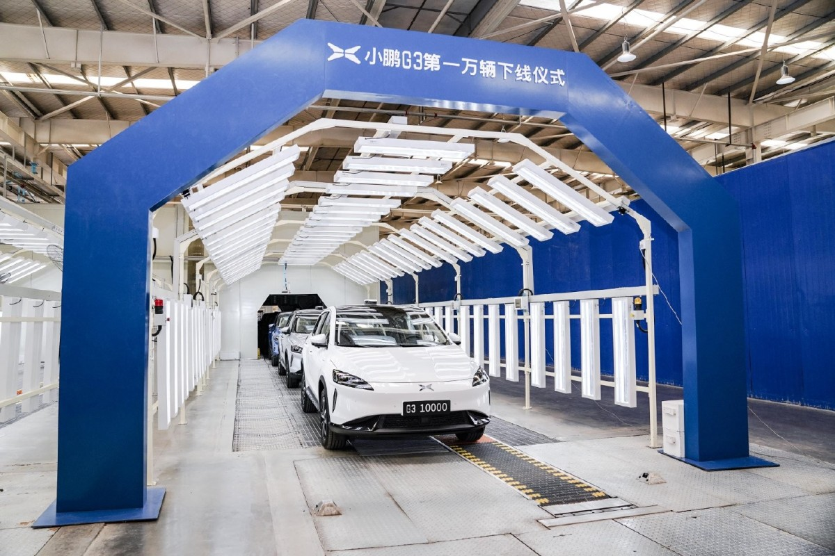 June 2019 Marketing Handout Ideas Tesla's Chinese challenger Xpeng rolls out 10,000th SUV as