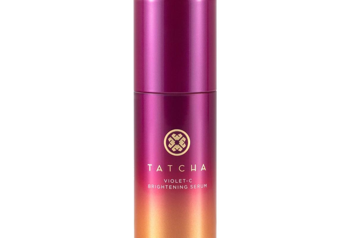 7470018c241 Tatcha's Violet-C Brightening Serum helps soften, smooth and brighten skin.