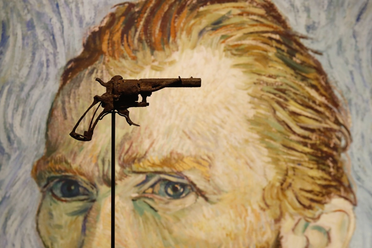 ae786a29972d4 The Lefaucheux revolver believed to be the gun used by Dutch painter  Vincent van Gogh to