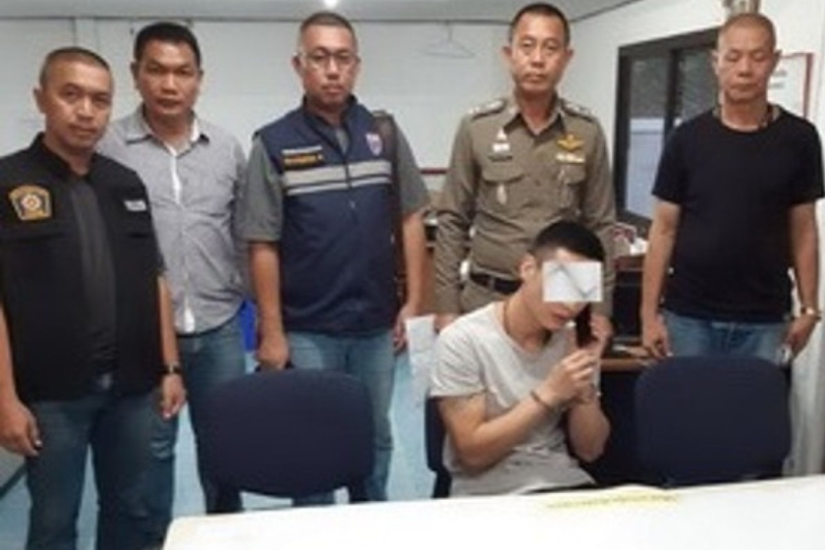 Chinese businessman accused of pushing pregnant wife off cliff in Thailand to get her money
