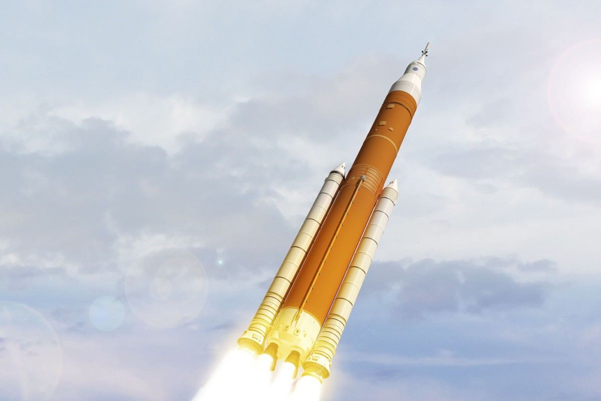 Doubts over manned moon missions as Boeing's Nasa launch system runs close to US$2 billion over budget and...