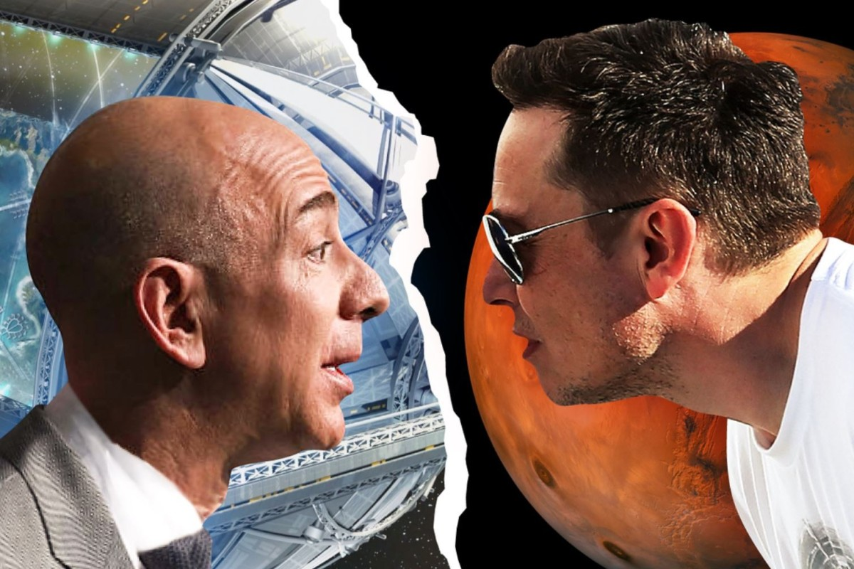 How space travel dreams sparked Jeff Bezos' long feud with