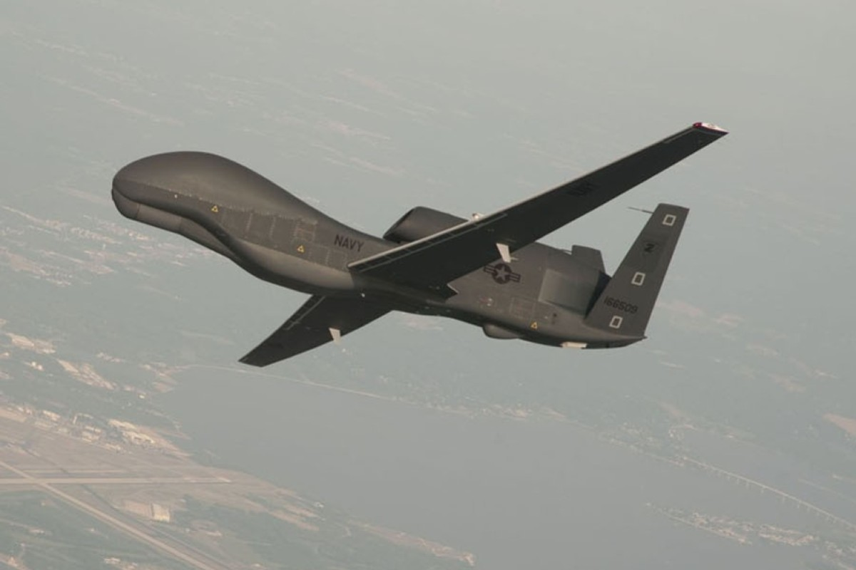 A RQ-4 Global Hawk drone. File photo: Reuters