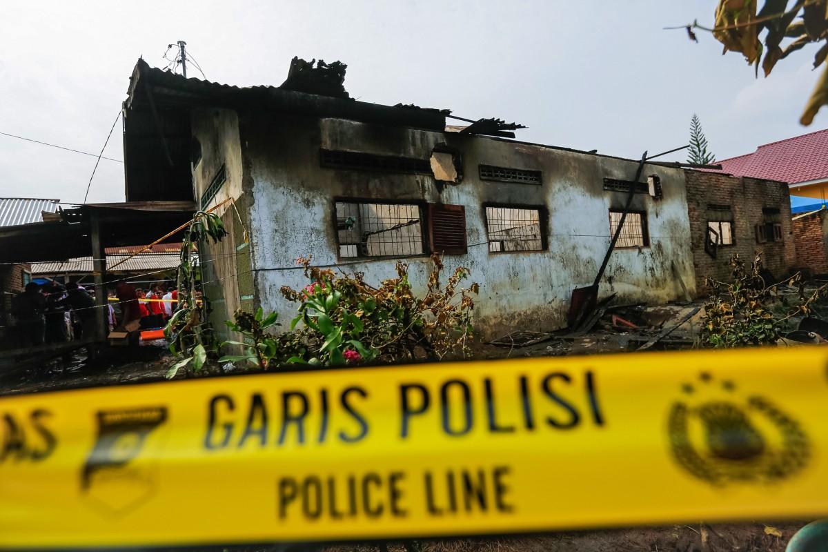 Indonesian lighter factory owner, supervisor arrested after blaze