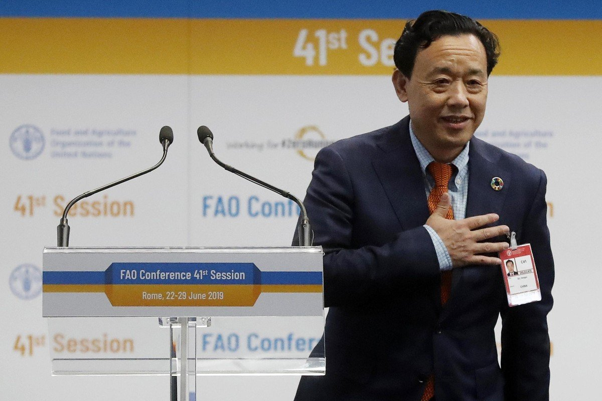 FAO may come under more US scrutiny with Chinese national Qu Dongyu at the helm