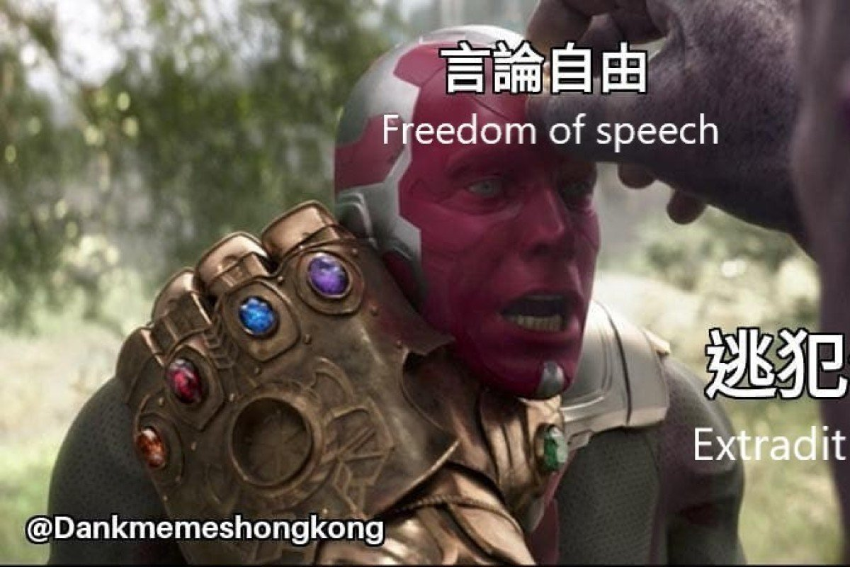 Hong Kong's tech-savvy youth turn to memes to punctuate extradition bill protests
