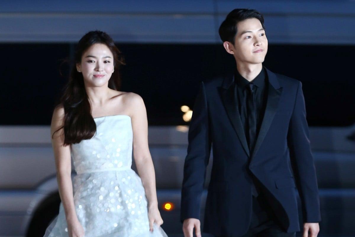 Korean drama Descendants of the Sun power couple Song Hye