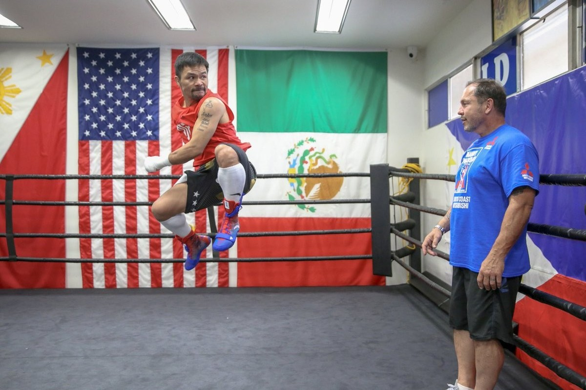 Manny Pacquiao channels Bruce Lee for Keith Thurman fight – in his