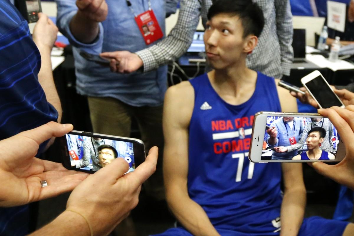 Ex-NBA star Zhou Qi apologises after China basketball legend
