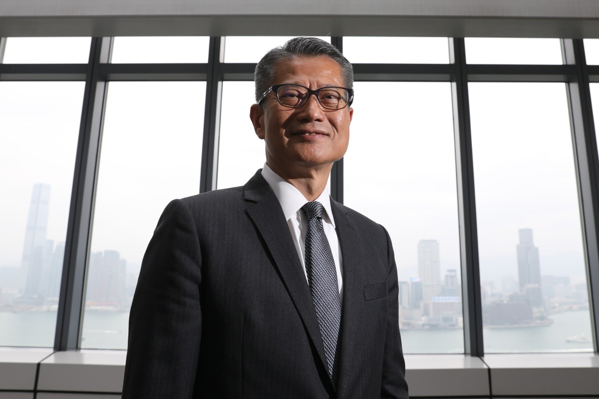 Financial Secretary Paul Chan details 'achievements' of Hong Kong government since taking office in 2017