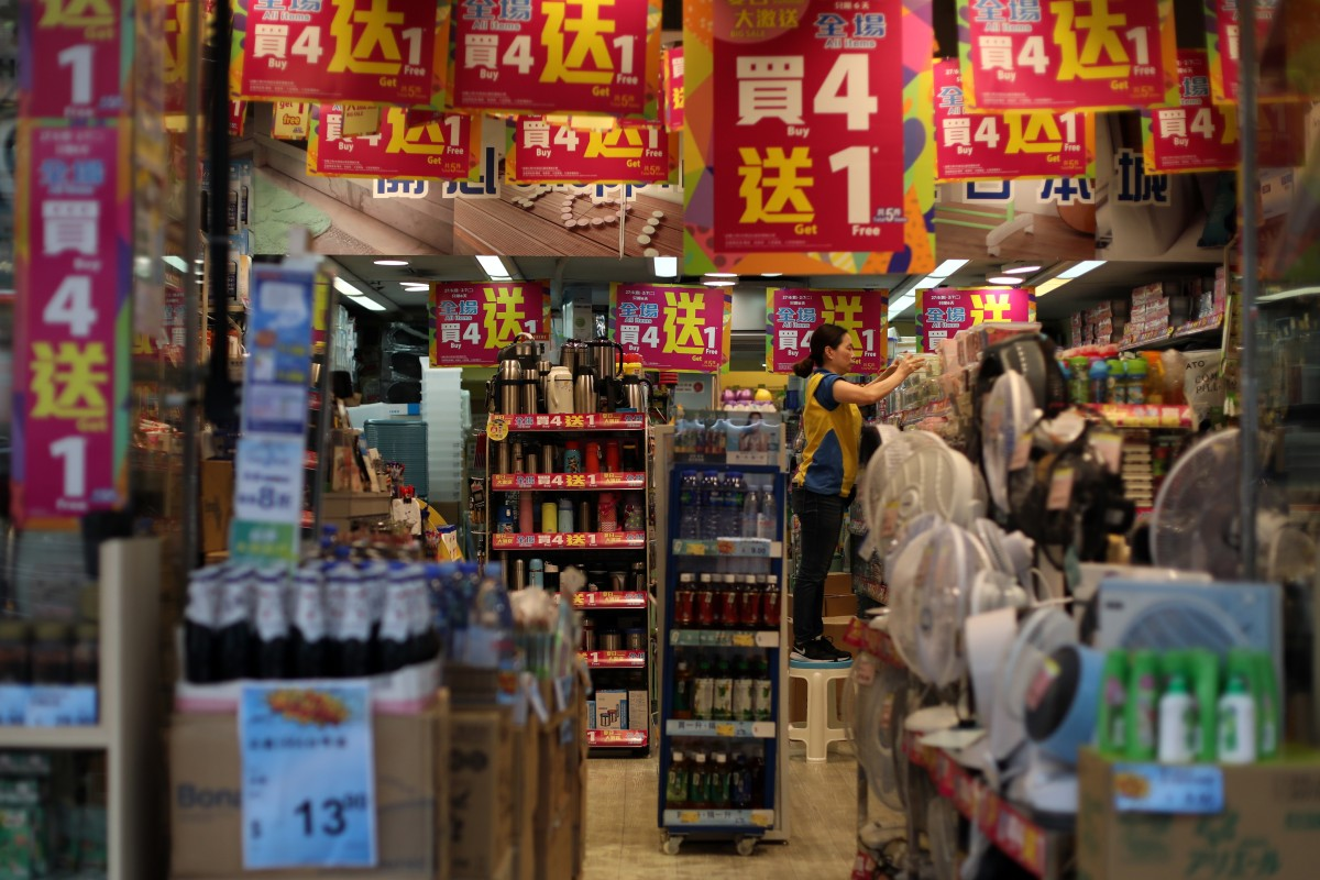 Hong Kong retail sales in May fall for fourth month in row