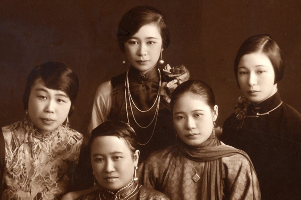 b217c77dff67 Members of the Wing On department store's Kwok family in Shanghai in 1931: ( clockwise