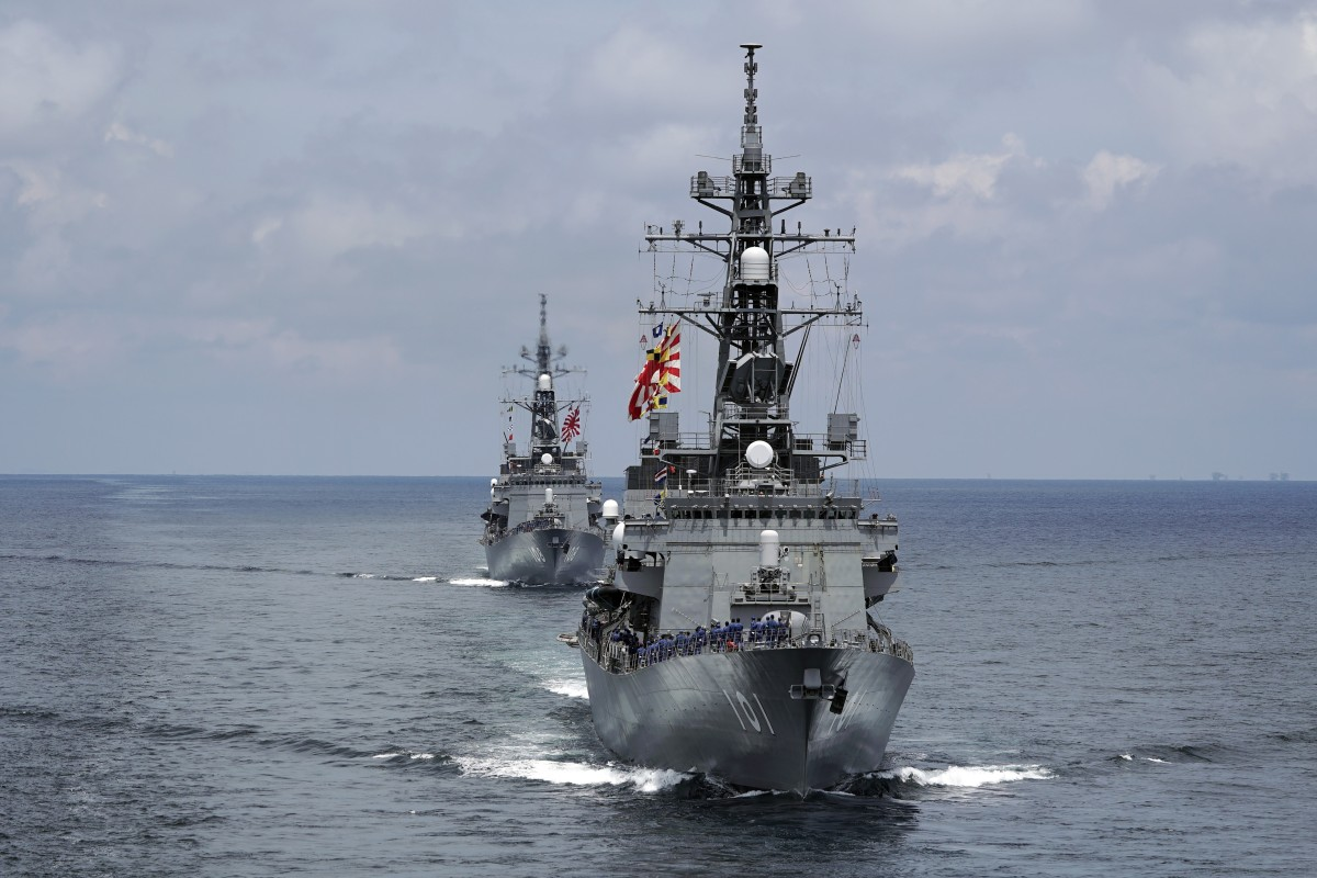 Japan Flexes Its Military Muscle On Edge Of South China
