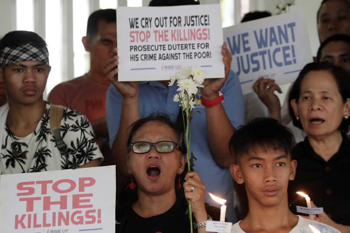 Philippine toddler's death during drug raid leads to suspension of