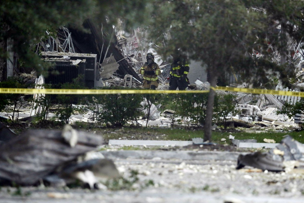 Huge Bang Thump At Least 21 Injured In Florida After Gas