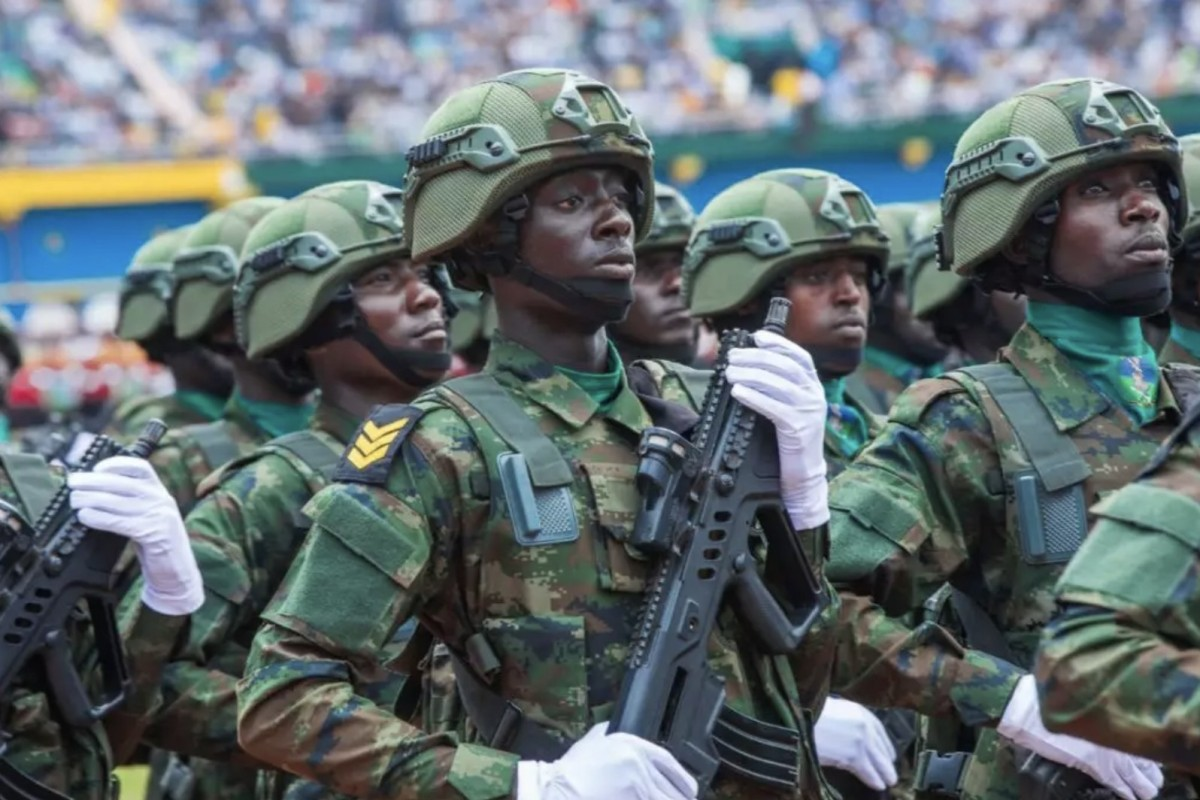 2bc212a627504e PLA instructors were invited to help train Rwandan soldiers and police  officers, according to state
