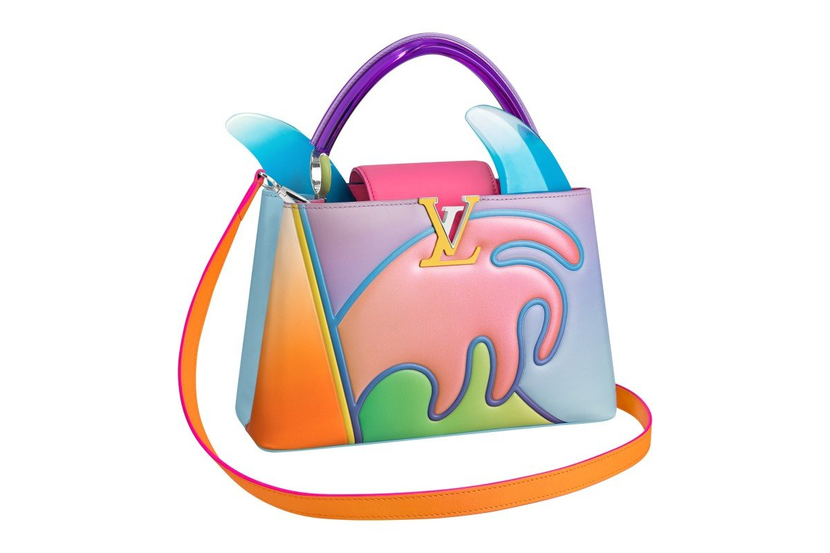 f6dceb595 One of the bags in Louis Vuitton's Artycapucines capsule collection. Photo:  Handout