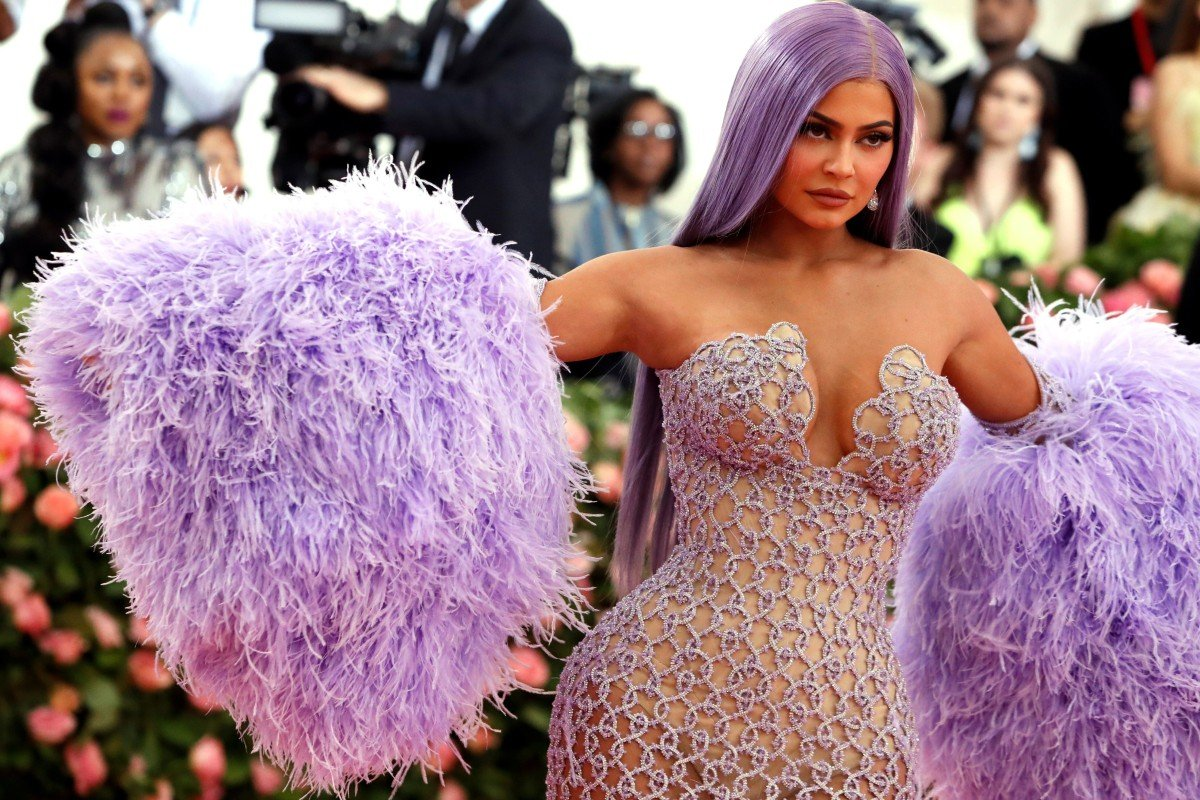 6cd405ade Kylie Jenner, pictured at this year's Met Gala charity event in New York,  was