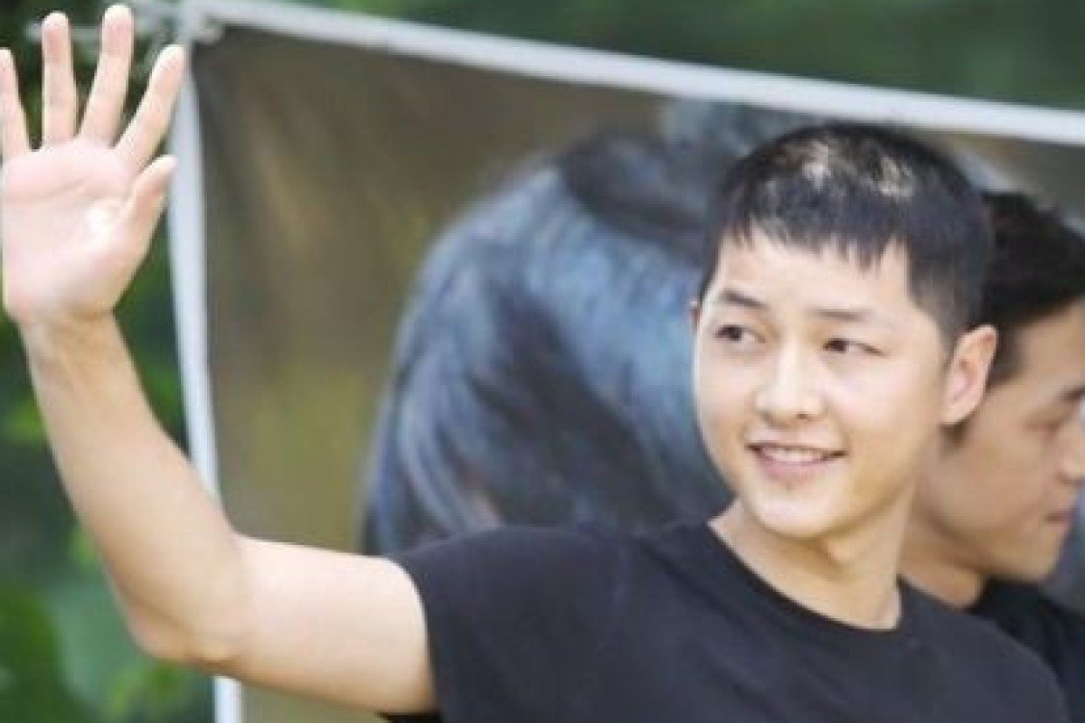 Has K-drama star Song Joong-ki been losing his hair because of his