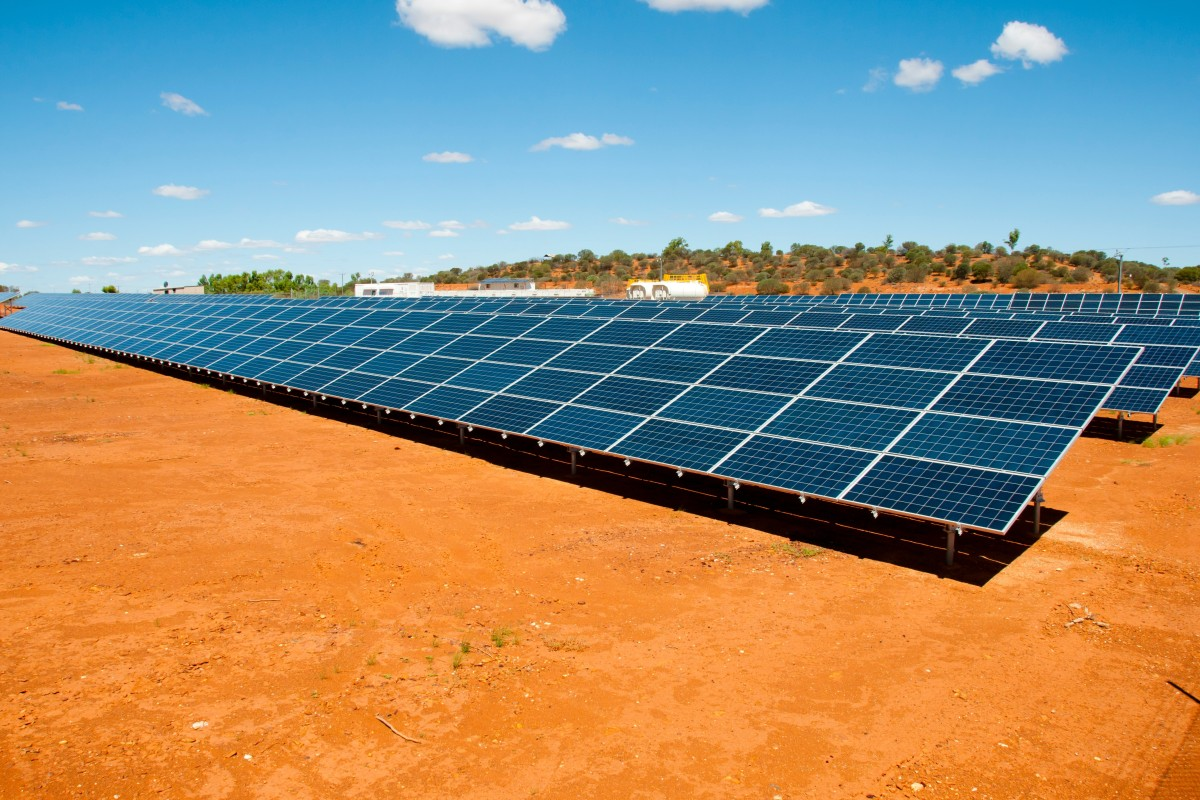 There are ambitious solar and wind projects planned for both the Northern Territory and the Pilbara in Western Australia. Photo: Shutterstock