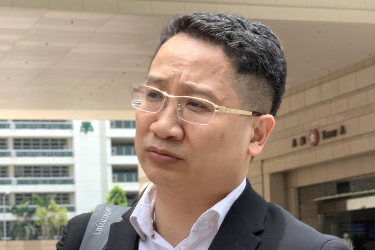 352a621fc3c3 Dr Szeto King-ho of the Hong Kong Emergency Medicine Centre leaving West  Kowloon Court