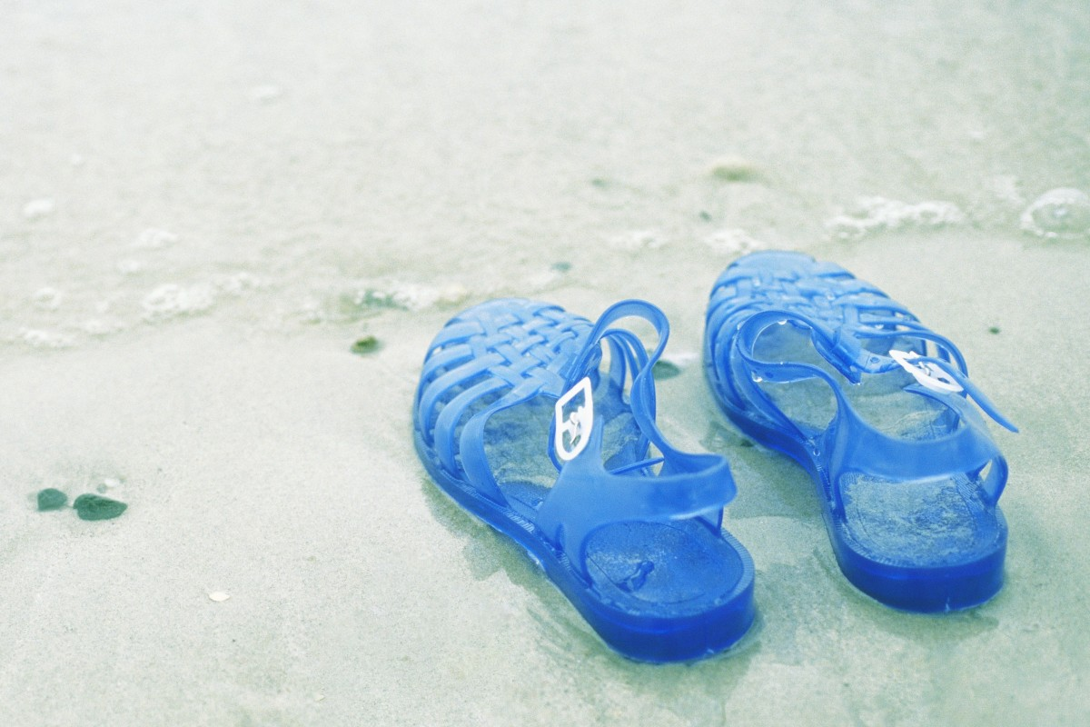 a97a7b050 Jelly shoes are almost entirely made from the petrochemical-based material  PVC, which,