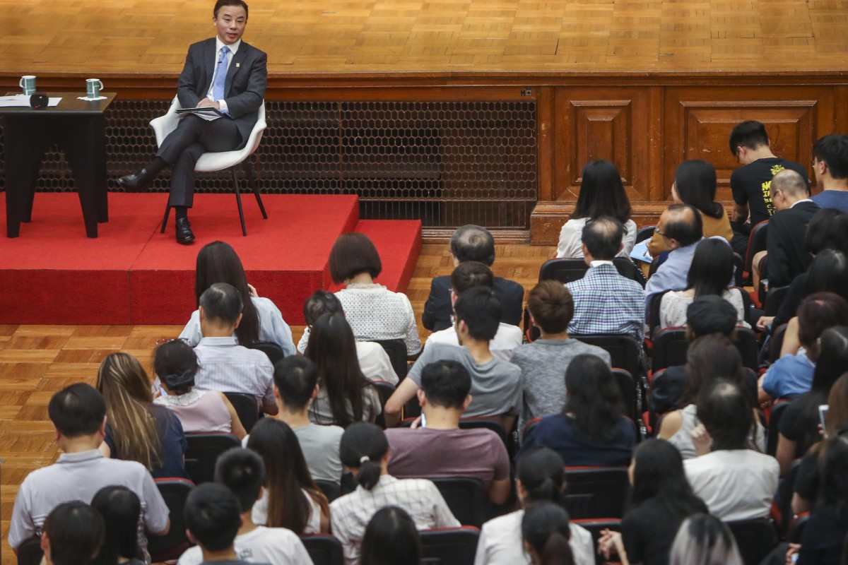 University of Hong Kong president Zhang Xiang calls for 'every corner of society' to mend political divide...