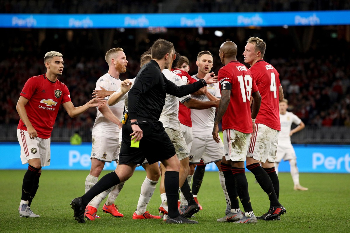 'You're all Chinese' chant sees Leeds United fans accused of racial abuse after Manchester United friendly...