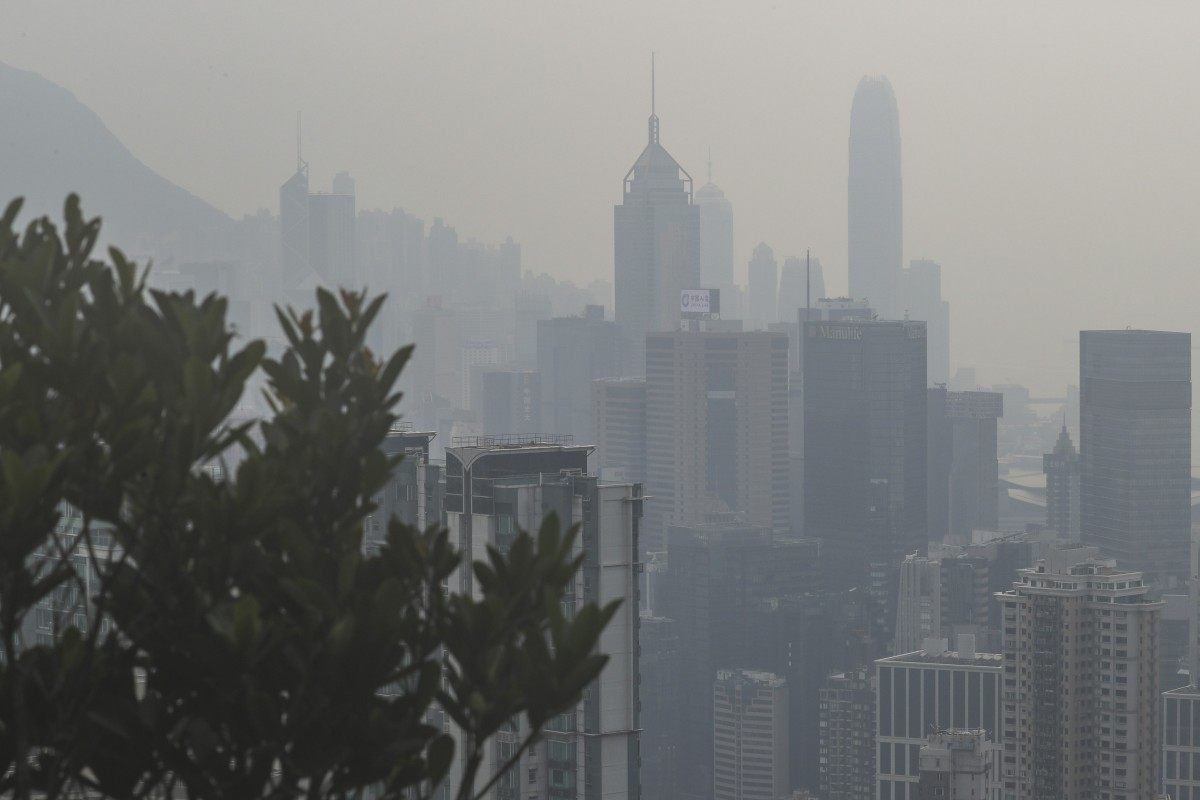 Greenpeace launches Hong Kong pollution campaign as volunteers talk about the impact city's bad air has on...