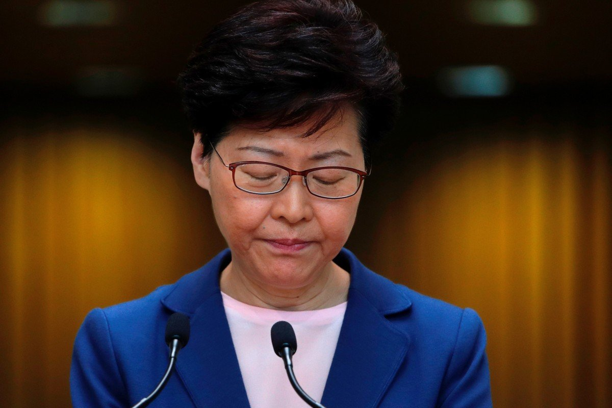 Extradition bill protests: why have Hong Kong's business elite and tycoons abandoned Carrie Lam?