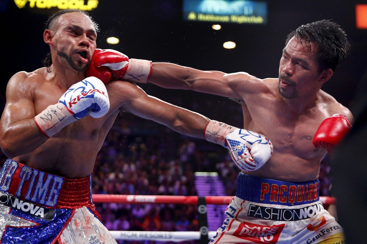 Manny Pacquiao defeats Keith Thurman on points in stunning