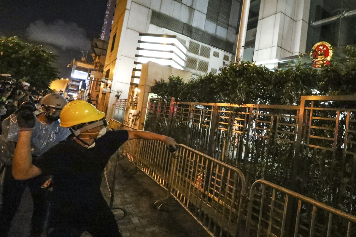 Chinese state media condemns Hong Kong protesters after