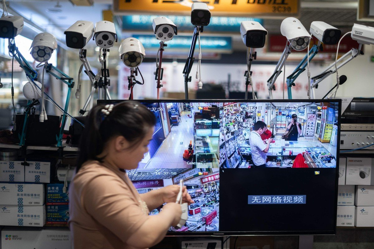 Chinese surveillance giant Hikvision stockpiles crucial parts to
