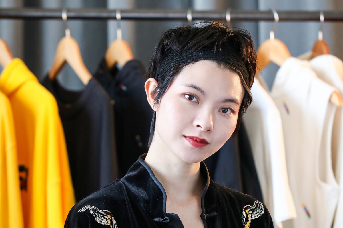 4adaa3eec185 Chinese fashion designer Angel Chen. Her capsule collection designed in  collaboration with Swedish fast-