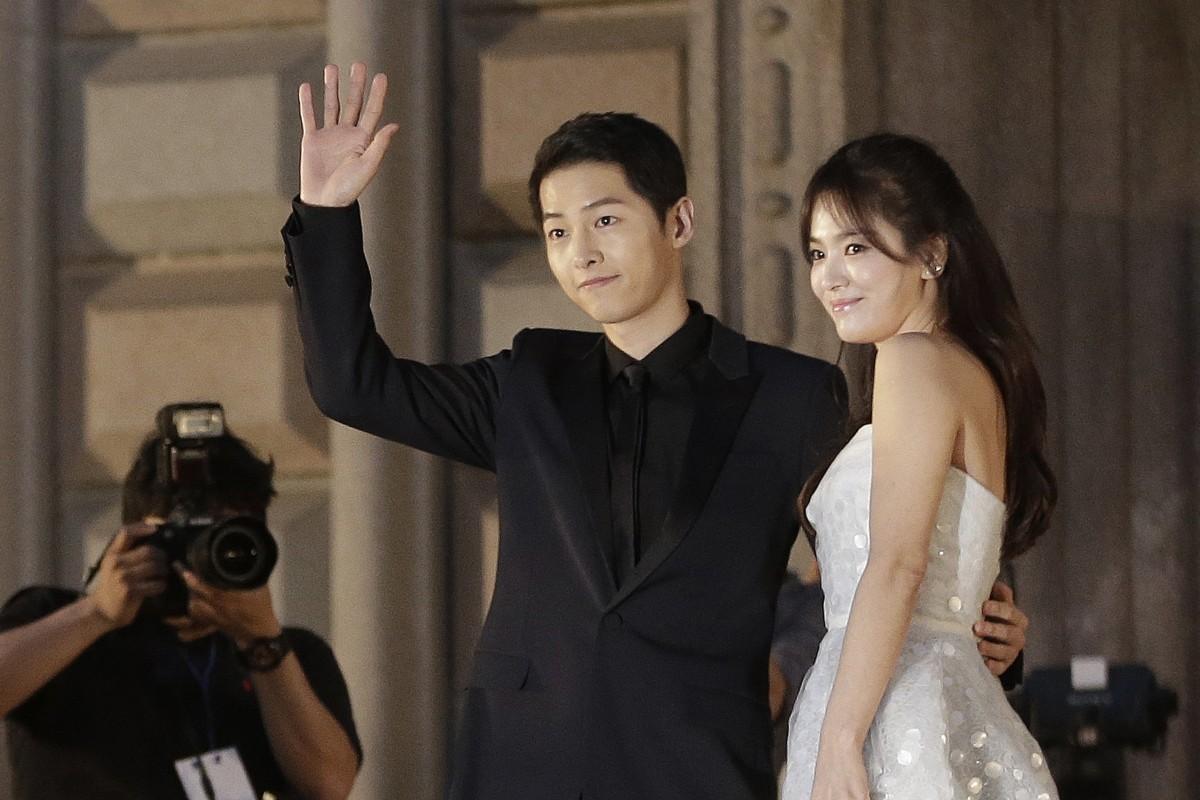 Korean drama Descendants of the Sun power couple Song Hye-kyo, Song