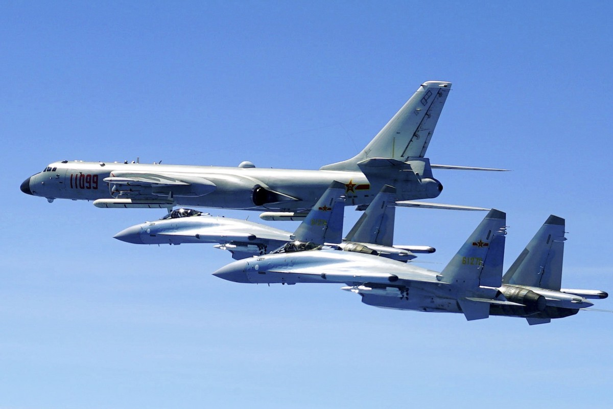 PLA's 'Sword of the South' air brigade puts upgraded Su-35s through their paces over South China Sea