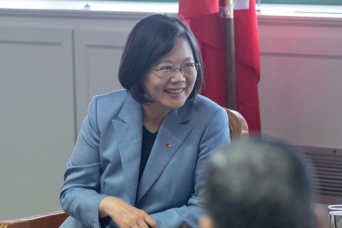 Taiwan's President Tsai Ing-wen acknowledged the reported arrivals during her visit to the Caribbean. Photo: EPA-EFE