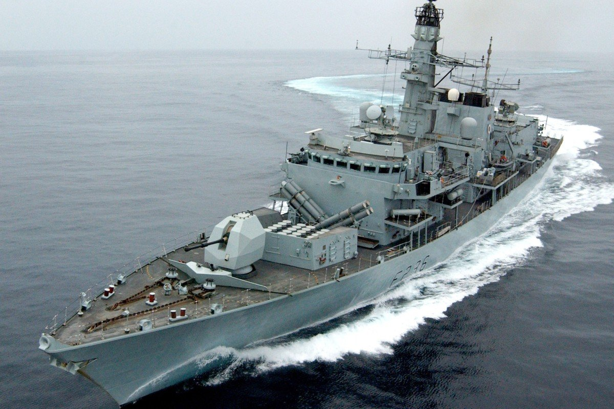 British vessel transits Strait of Hormuz, where Iran seized
