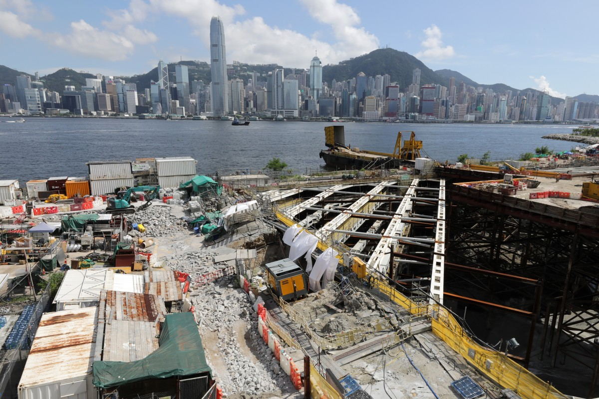 Flooding at construction site of Hong Kong's troubled West Kowloon Cultural District 'more extensive than...