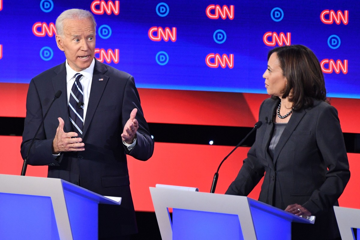 Democrats Are Spotlighting Big >> Joe Biden And Kamala Harris Square Off Again As Democrats Debate