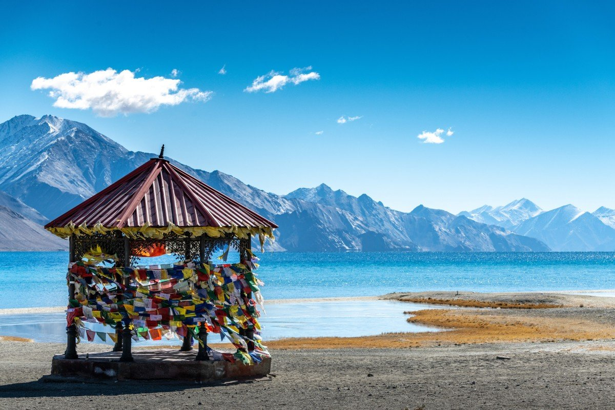 Pangong Tso, the highest salt lake in India. Photo: Shutterstock