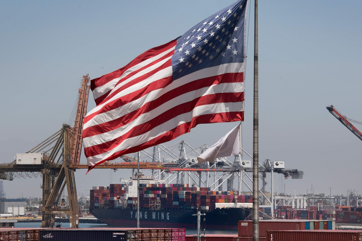 Trade between US and China tumbles in first half of year as tariffs