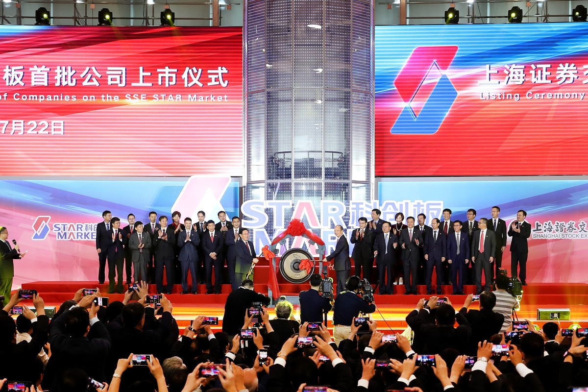 China's new Star Market turns dozens of founders into overnight