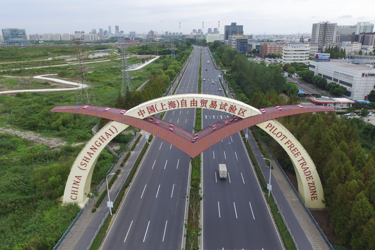 China doubles size of Shanghai Free-Trade Zone to include