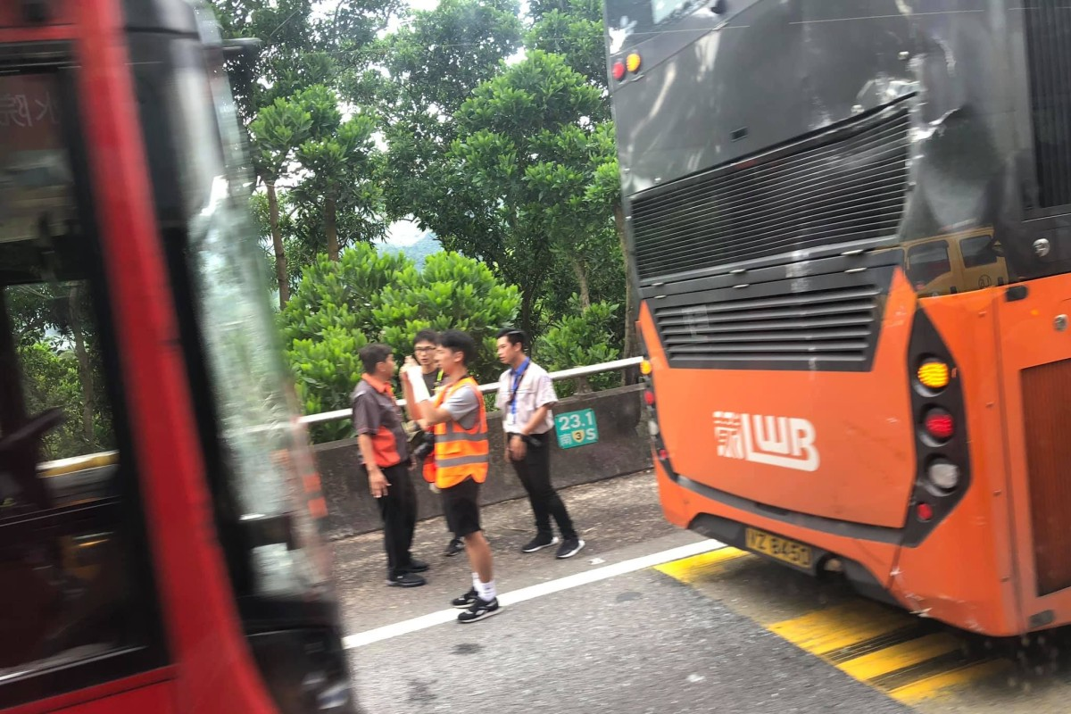 Bus crash in Hong Kong injures 11, latest in spate of