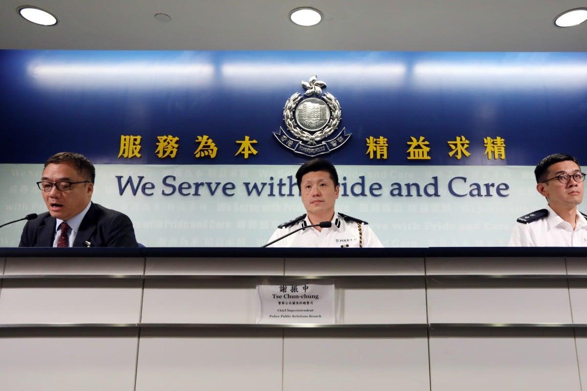Hong Kong police defend arrest of Baptist University student