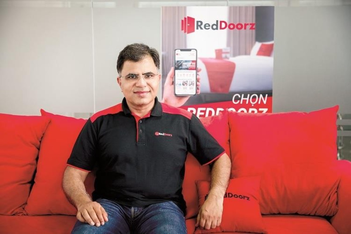 RedDoorz founder and chief executive Amit Saberwal. Image: SCMP/Facebook