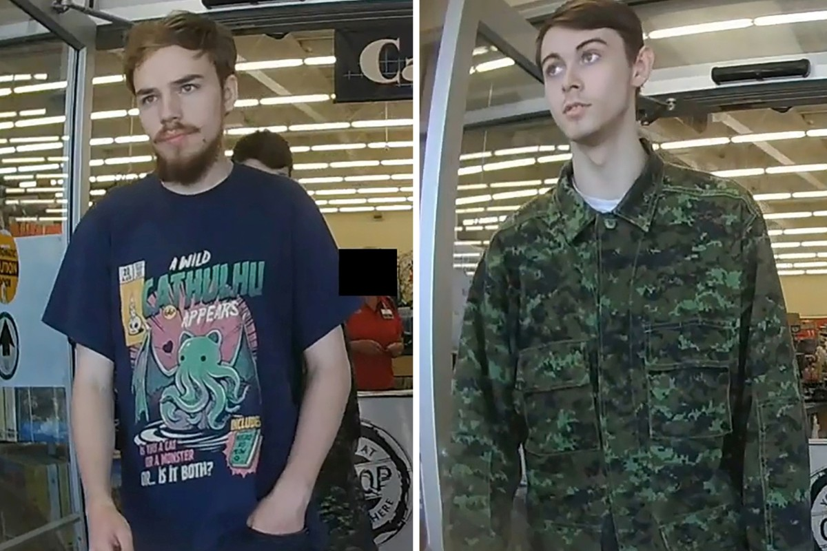 Canadian teen murder suspects Kam McLeod and Bryer Schmegelsky