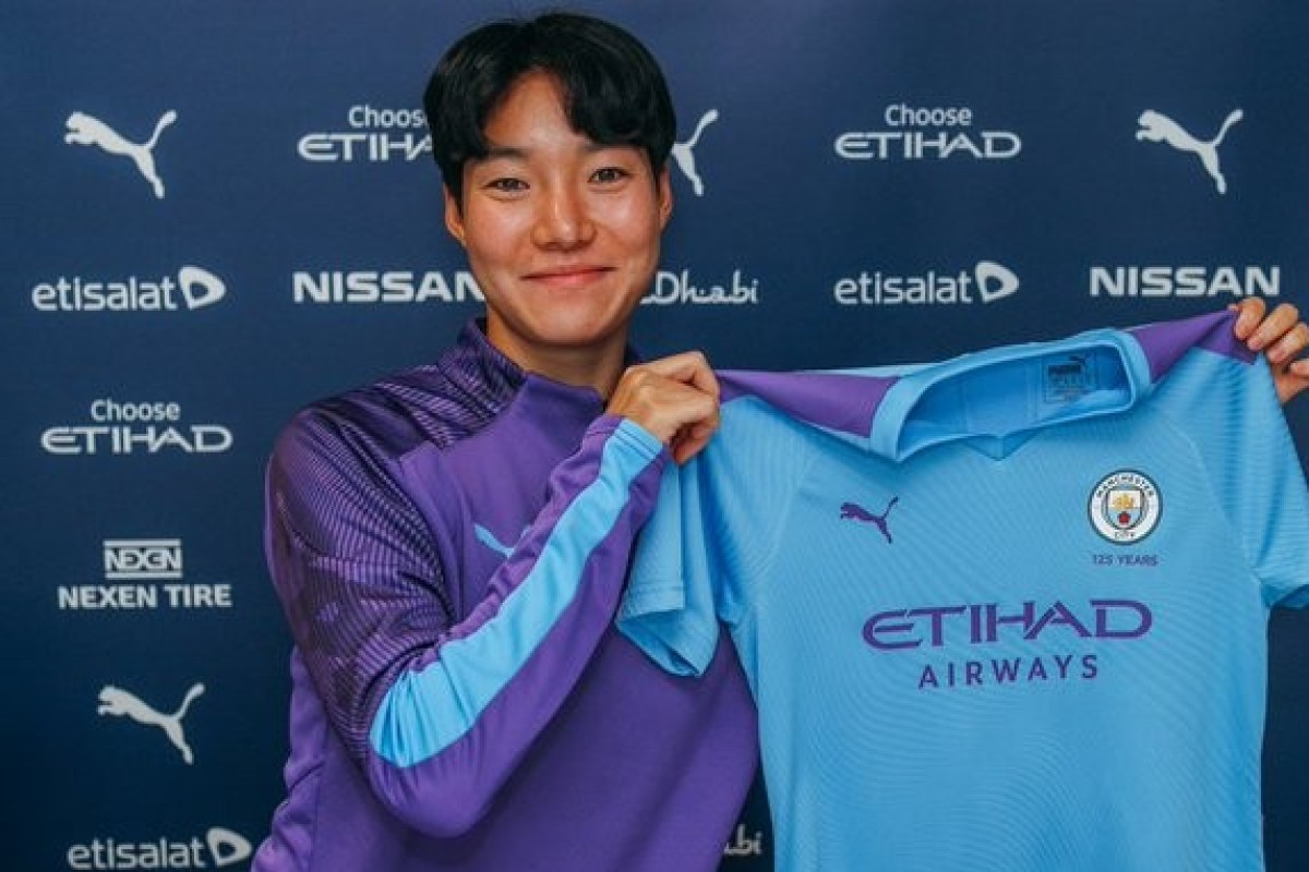 Manchester City fans confuse new female South Korean player for